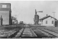 Union Pacific Railroad Co. Depot 1906