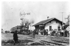 Union Pacific Railroad Co. Depot 1911